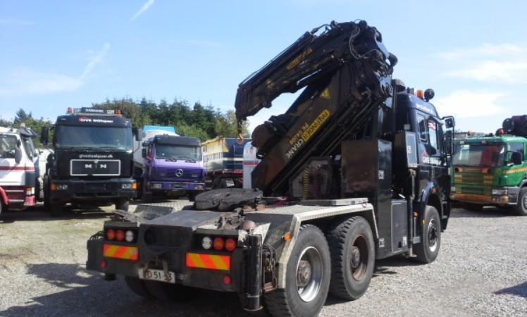 Brugt Mercedes Lastvogn (trækker) (SK 2653 6x4 Kran Palfinger PK 54000)- Lastbilnettet.dk